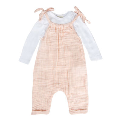 Baby Girls Lola Muslin Dungi Set