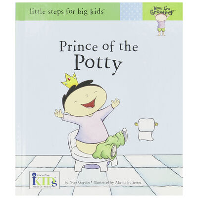 Prince of the Potty Book