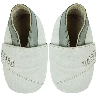 Baby Boys Embroid Cross Over Soft Sole