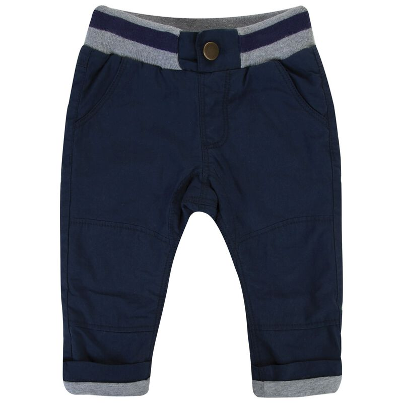 Baby Boys Zayne Chinos -  navy