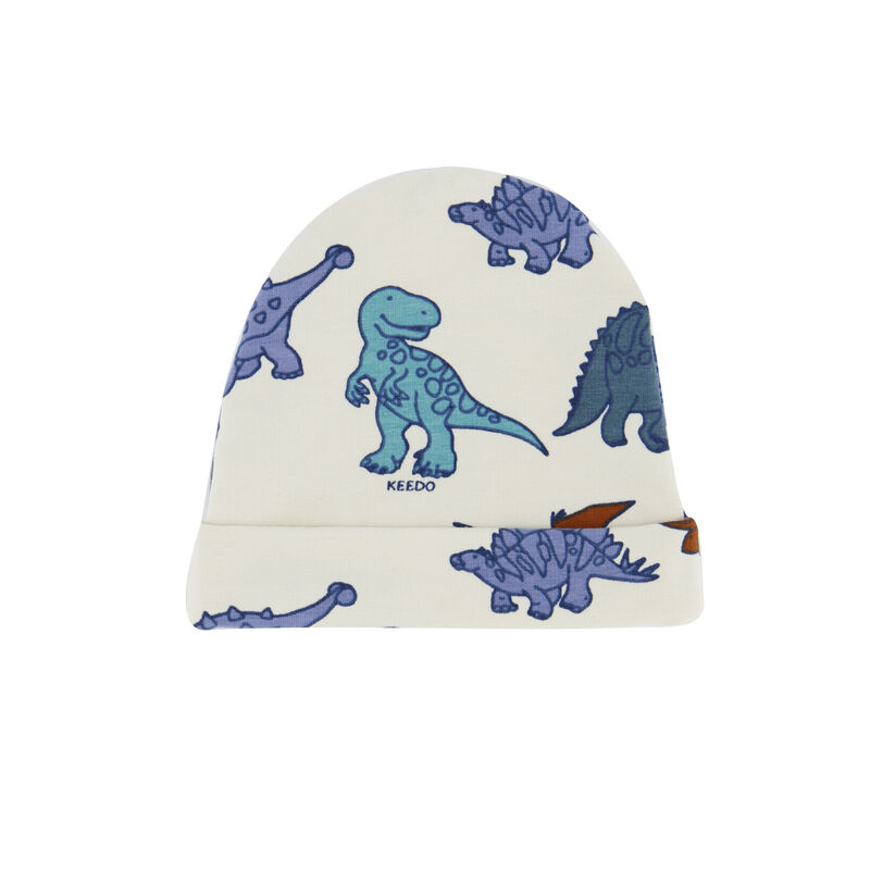 Baby Boys Dino Friends Beanie