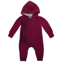 Baby Girls Laynee Quilted Grow -  red