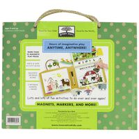 Farm Fun: Play - Draw - Create Set  -  green