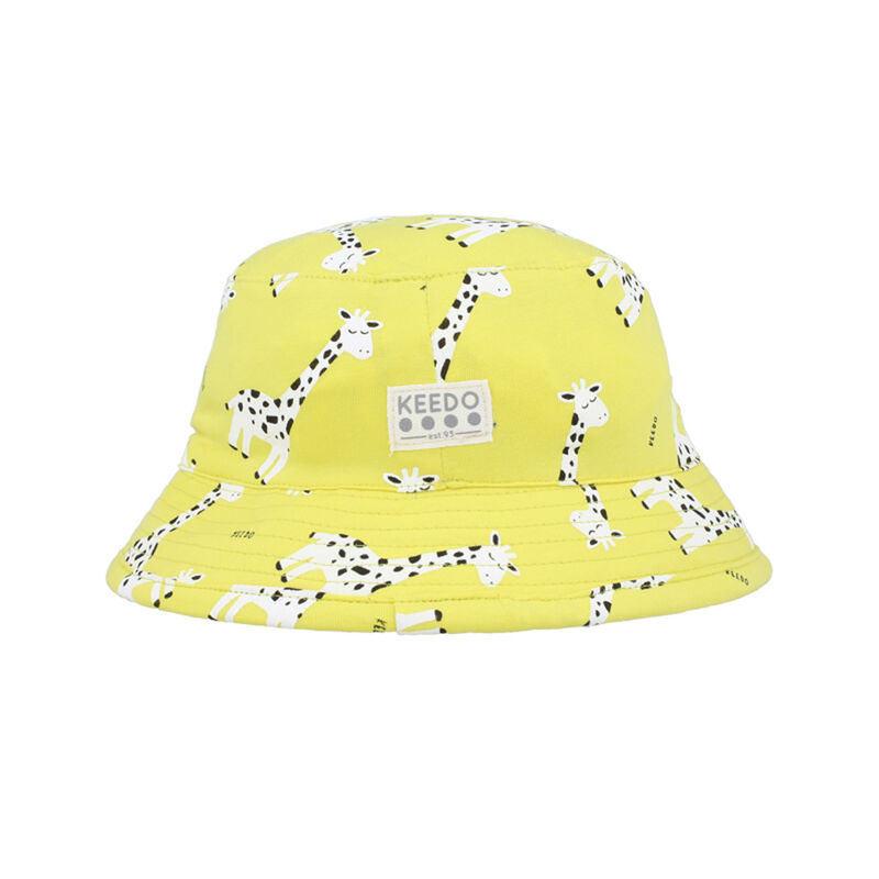 Girls Zest Bucket Hat -  yellow