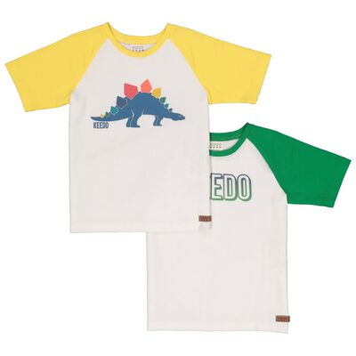 Boys Dino 2-Pack Tees