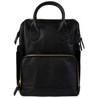 Nappy Backpack -  black