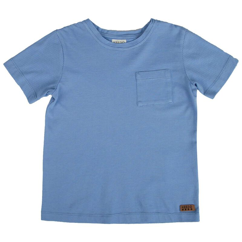 Boys Scott Tee -  periwinkle