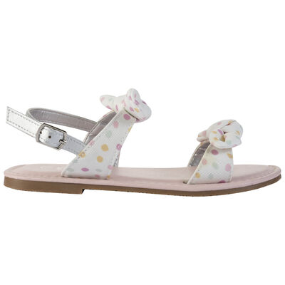 Girls Stacey Bow Sandal