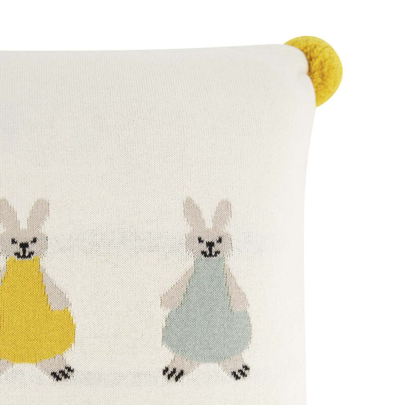 Bunny Cushion -  milk