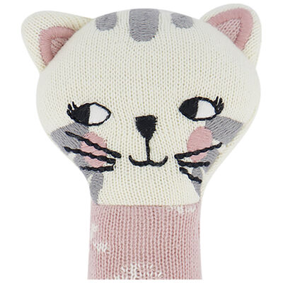 Baby Girls Cat Rattle