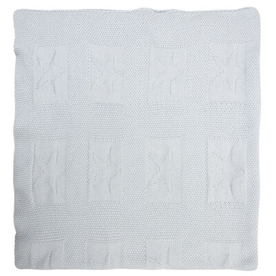 Baby Boys Star Heirloom Blanket