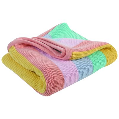 Baby Girls Mackenzie Stripe Blanket