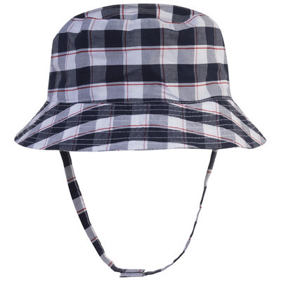 Baby Boys Cade Check Hat