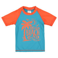 Boys Crab Sun Top -  seablue