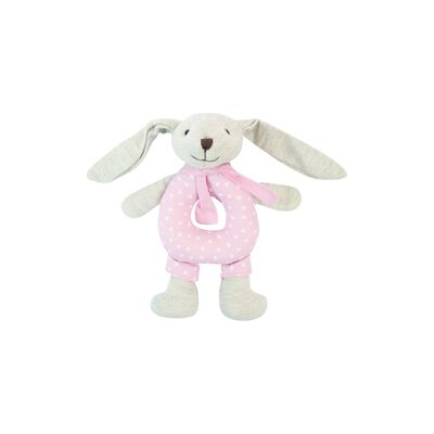 Baby Girls Rabbit Rattle