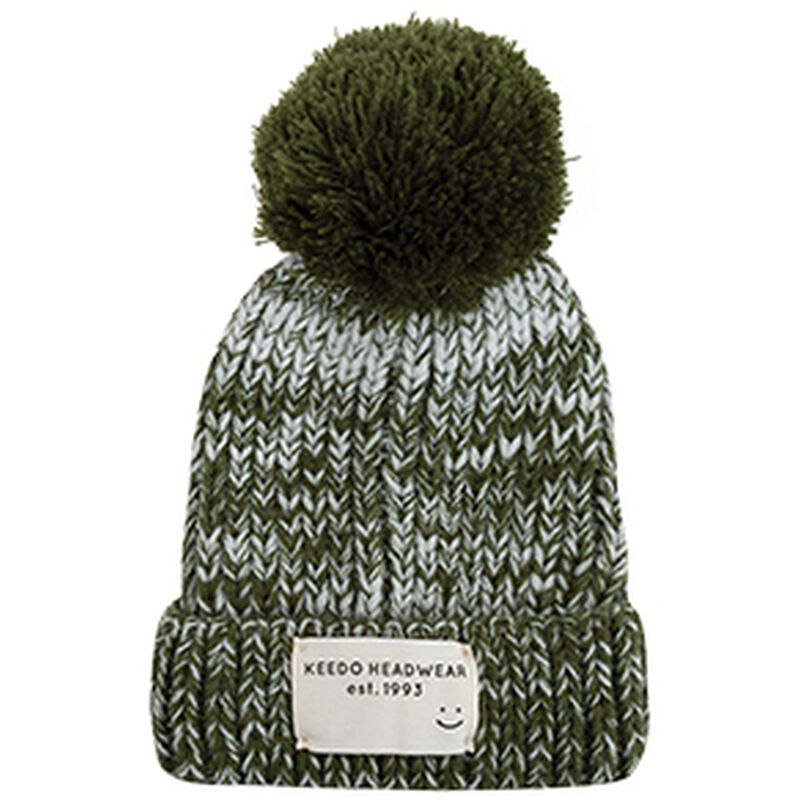 Baby Boys Billy Marled Beanie -  fatigue