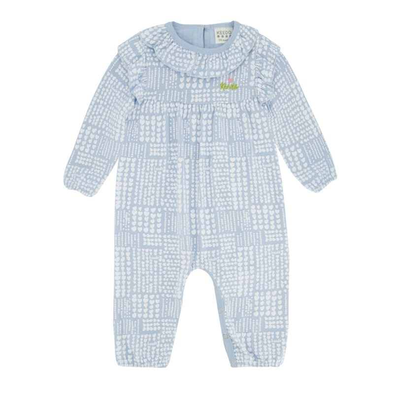Baby Girls Checkered Heart Grow -  dc5500