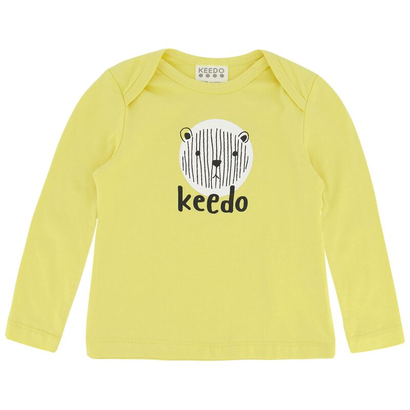 Babies Rey Long-Sleeved Tee -  yellow