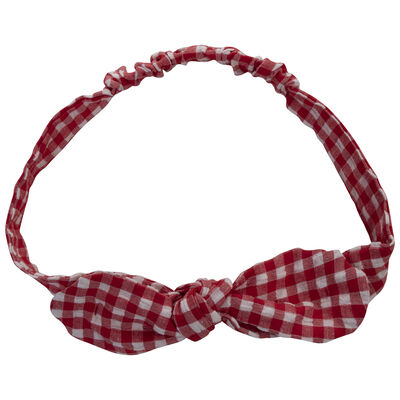 Girls Gingham Headband