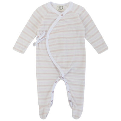 Baby Girls Allie Stripe Wrap Grow