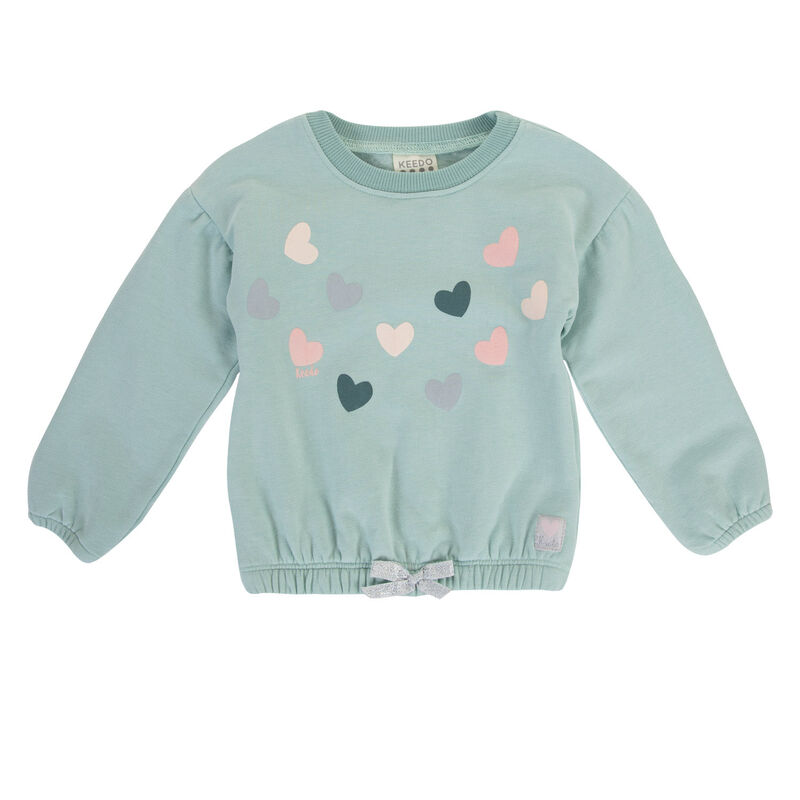 Baby Girls Clementine Top  -  blue