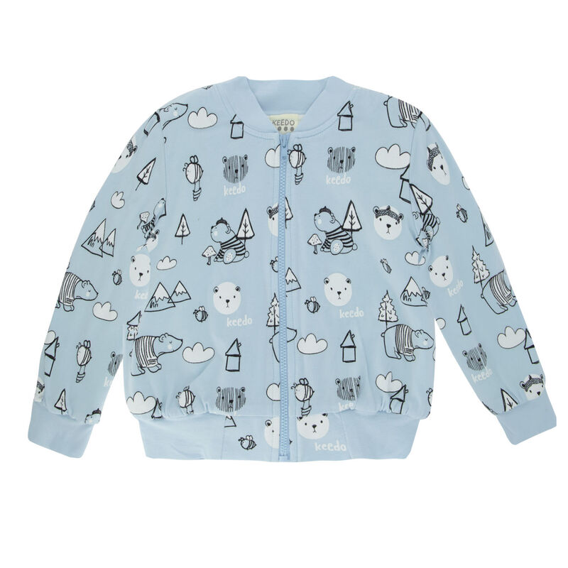 Baby Boys Will Soft Jacket -  lightblue