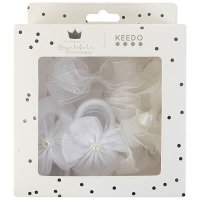 Baby Girls Kelsey Decor Socks & Headbands