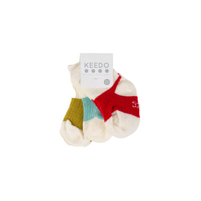Baby Boys Hayden 3-Pack Ribbed Socks