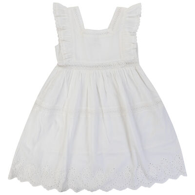 Girls Penelope Anglaise Dress
