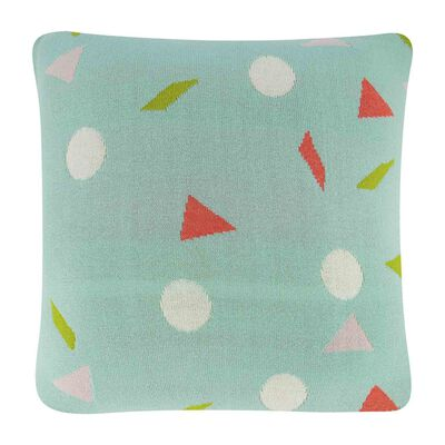 Neon Geometric Cushion