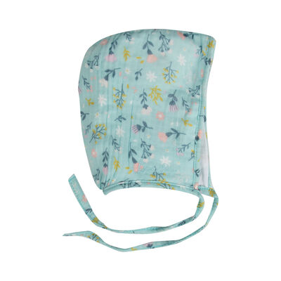 Baby Girls Lena Muslin Bonnet