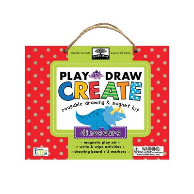 Dinosaurs: Play - Draw - Create Set
