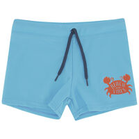 Boys Fun Trunks -  seablue