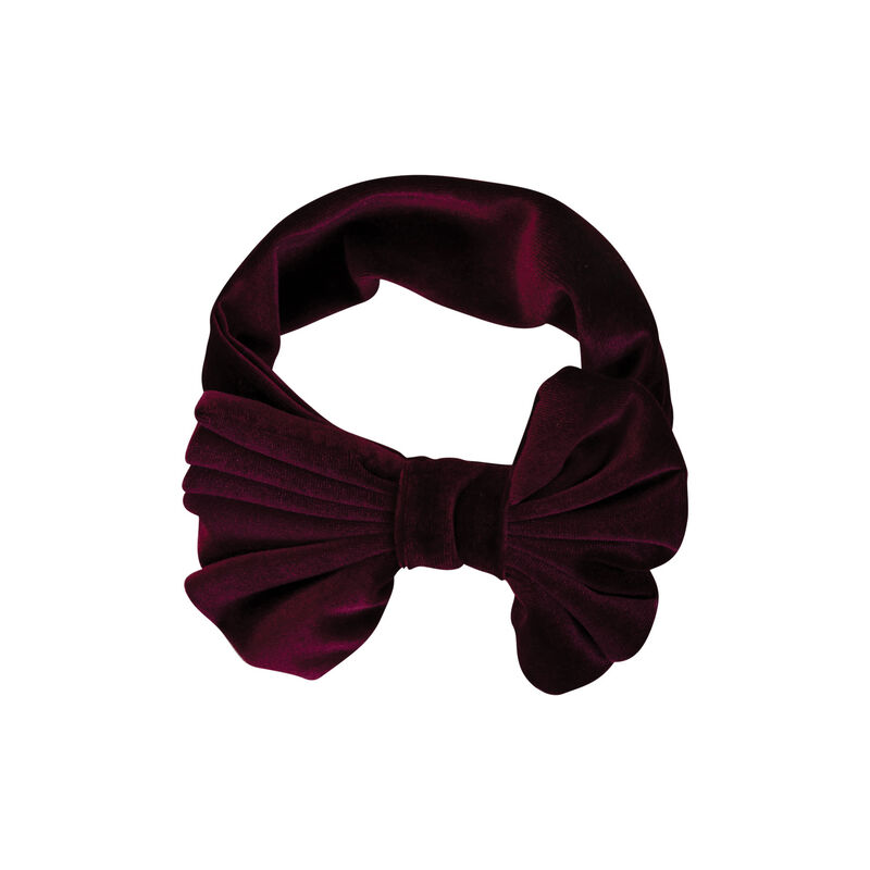 Girls Ruby Headband -  burgundy