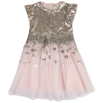 Girls Cleo Sequin Dress