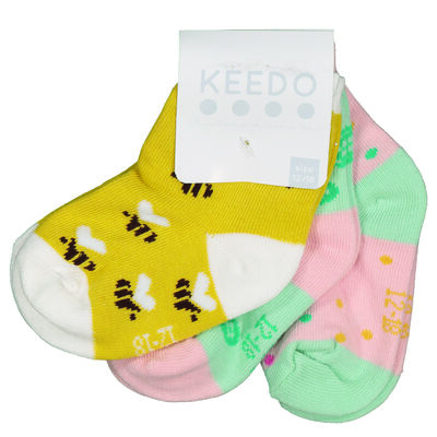 Baby Girls Bumble Sock Pack