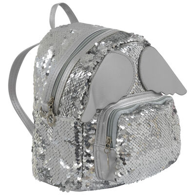 Girls Sequin Wing Backpack