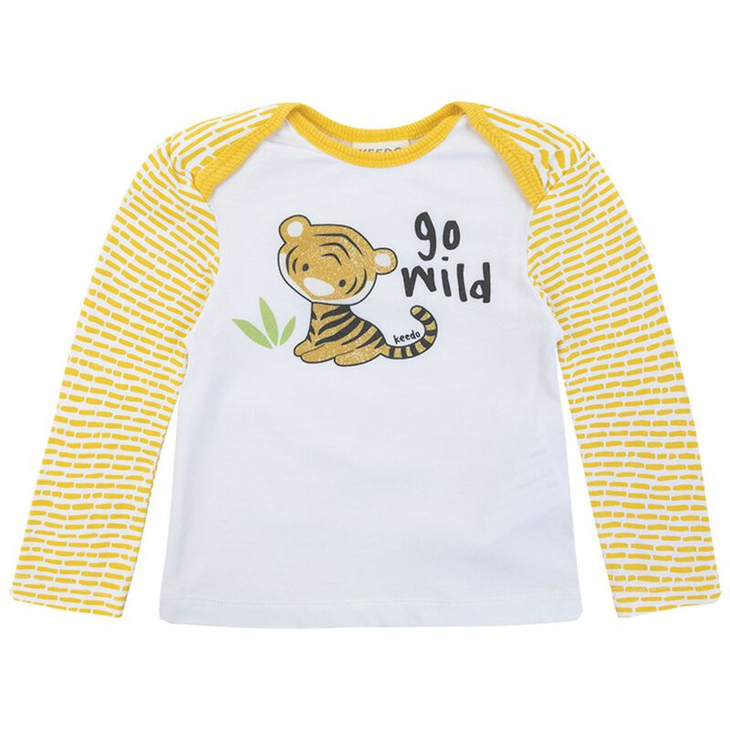 Baby Boys Leo Wild Set  -  eggyellow