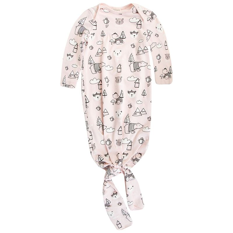 Baby Girls Emery Knot Grow -  palepink