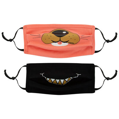 Kids Keedmask 2Pack Toggle Smile