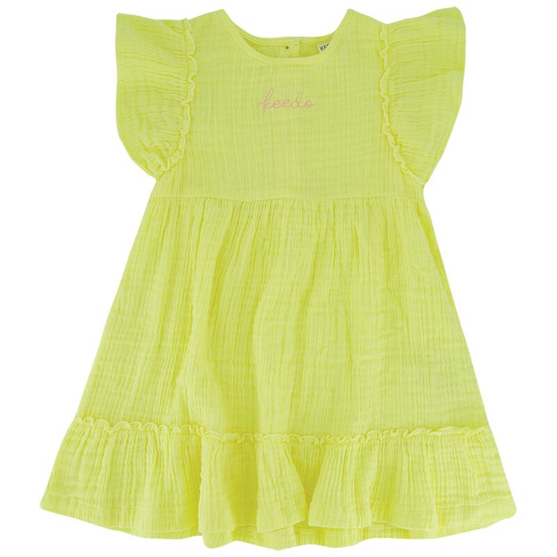 Girls Myra Frill Dress -  c89
