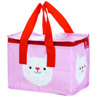 Cookie the Cat Lunch Bag -  pink