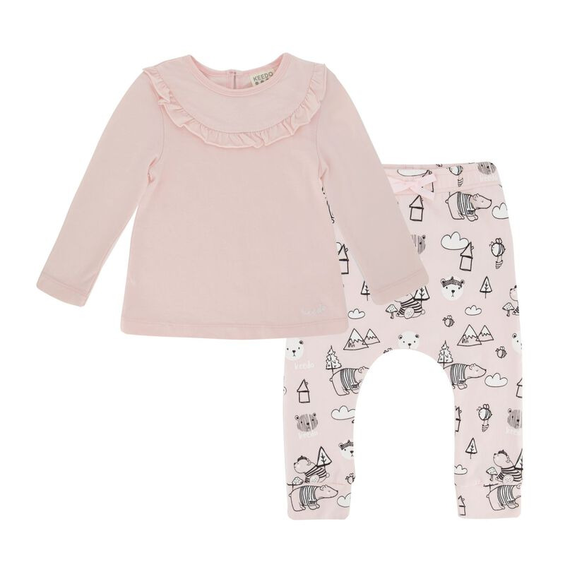 Baby Girls Isla Set -  palepink