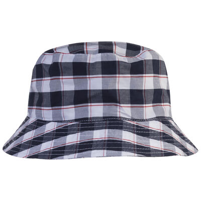 Boys Cade Check Hat