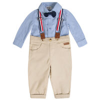 Baby Boys Milo Smart Set -  lightblue