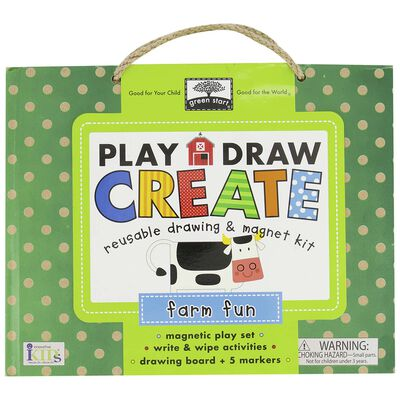 Farm Fun: Play - Draw - Create Set