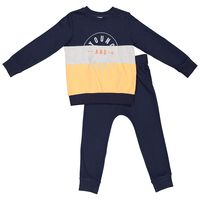 Boys Young & Brave Tracksuit  -  navy