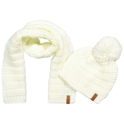 Baby Girls Holly Beanie & Scarf Set