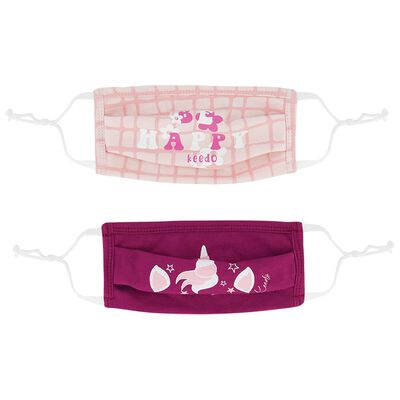 Girls Keedmask 2-Pack Toggle Masks
