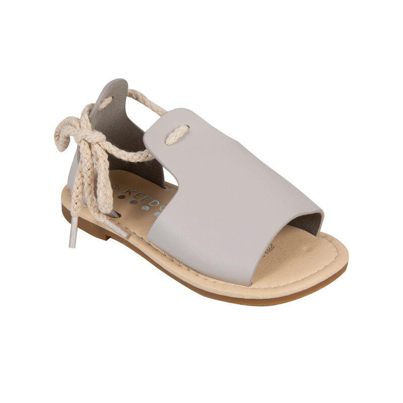 Girls Jane Sandal -  grey